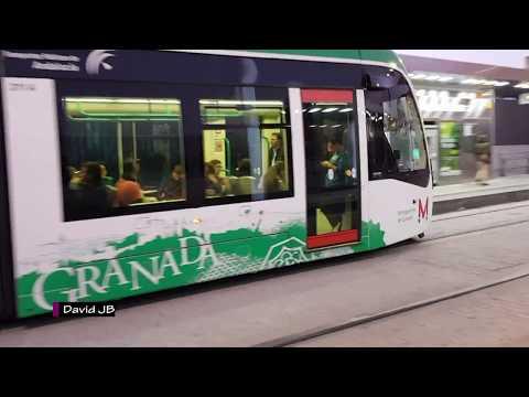 Metropolitano de Granada y Metro de Málaga