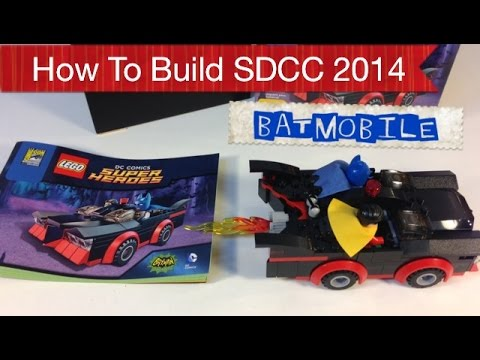 How to Build the LEGO SDCC 2014 Classic Batman TV Series Batmobile