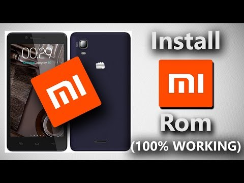 How to flash custom rom on micromax doodle 3 (A102- mi rom - download link present)