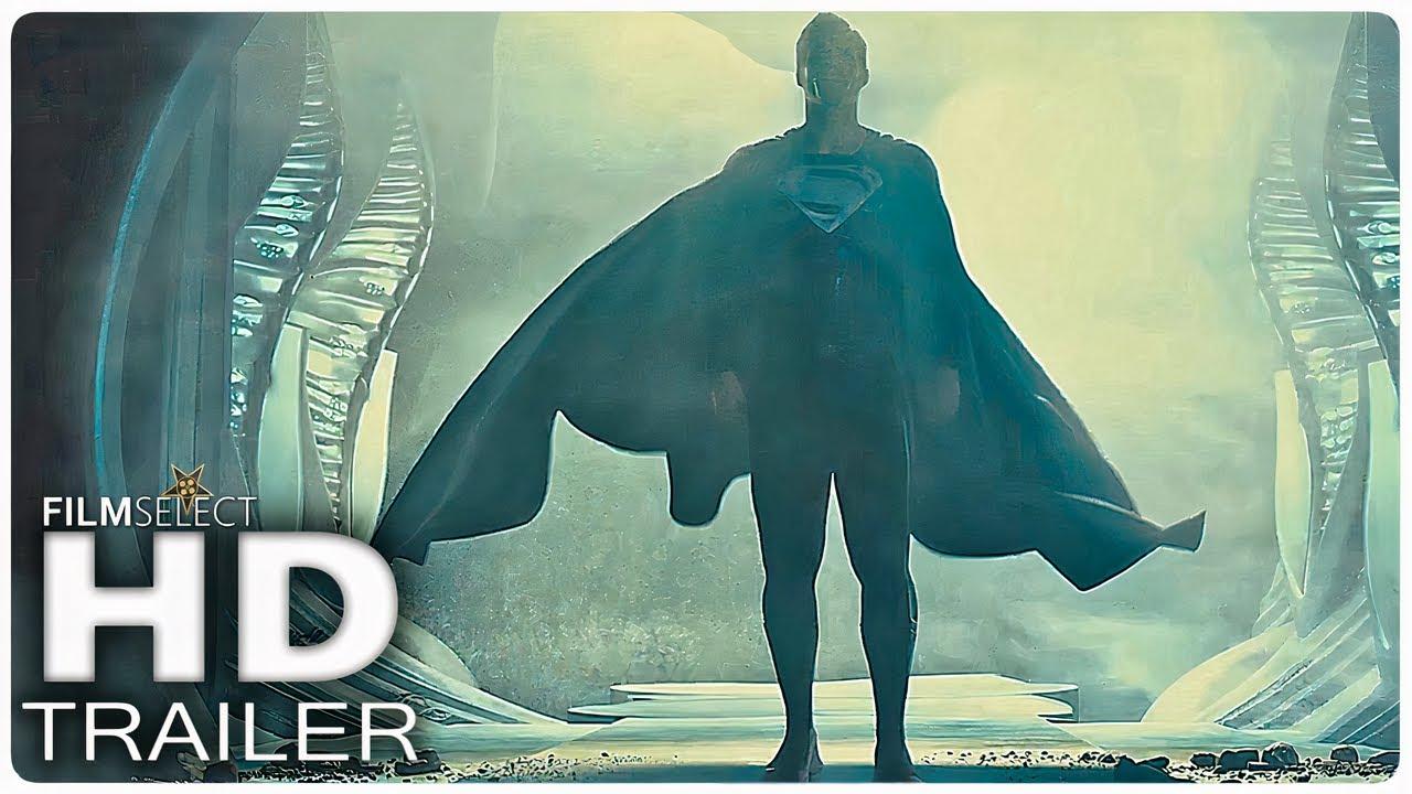 """JUSTICE LEAGUE: The Snyder Cut """"Superman Gets Black Suit"""" Trailer (2021)"""