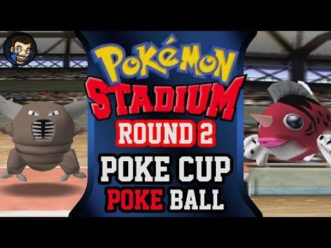 Pokémon Stadium - Round 2: Poké Cup | Pokéball |