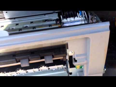 Ewaste scrapping a HP Photosmart 8250 printer