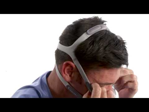 Fitting the Amara View CPAP Mask - DirectHomeMedical.com