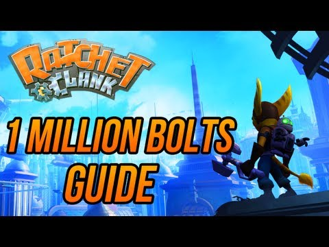 Ratchet and Clank (HD Collection) - How to get 1 Million Bolts