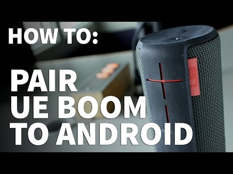 How to Pair UE Boom to Android Phone – Connect Wireless Speaker to Bluetooth Device or Computer