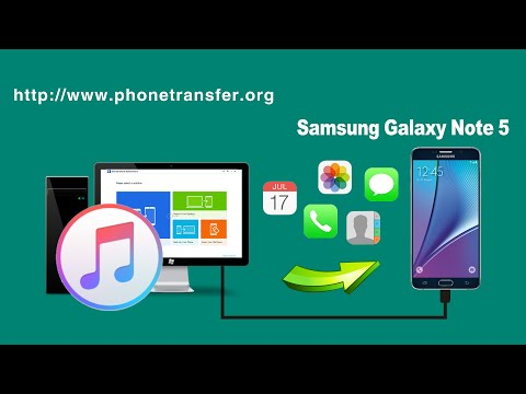 [Samsung Galaxy Note 5]: How to Extract iPhone Backup File from iTunes to Samsung Galaxy Note 5
