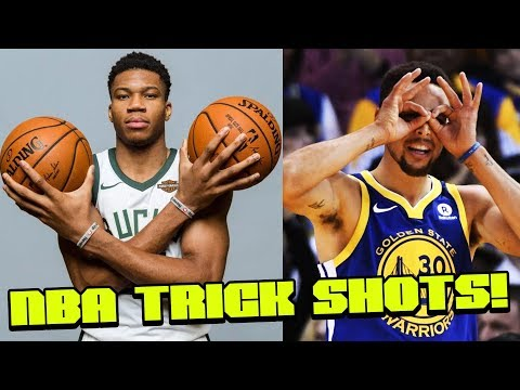 NBA Players Doing Trick Shots - Full Court Shots, Exhibiton Dunks and More