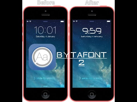 How to Change font on IOS