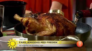 """Fredrik Eriksson:Låt lördagsmiddagen ta lite tid - man måste njuta lite också"""" - Nyhetsmorgon ("""