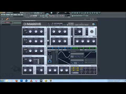 NI Massive Dubstep Synth/Lead Tutorial by Valzugg