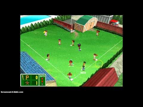 backyard baseball 2003 gameplay pt1
