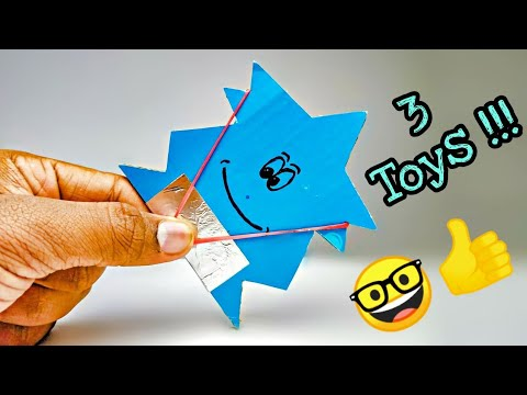 3 Amazing Toys From Cardboard !!!