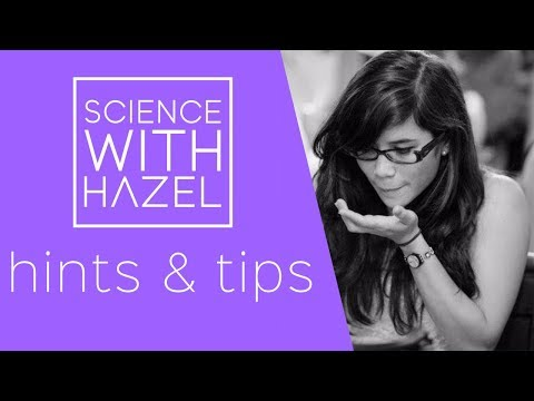 5 Top Tips For Staying Calm In Your Exams - GCSE Revision Tips - SCIENCE WITH HAZEL