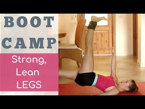 BootCamp Workout: Strong Leg Routine for Developpes and Extensions