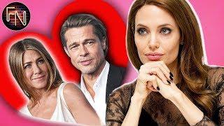 So reagierte Angelina Jolie auf die Begegnung von Brad Pitt und Jennifer Aniston!
