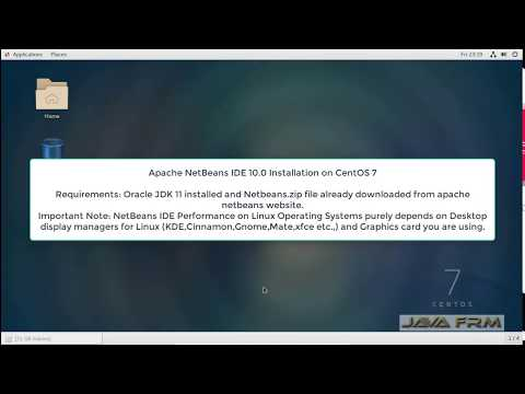 Apache NetBeans 10 Installation on CentOS 7 and Java 11 Modular Programming