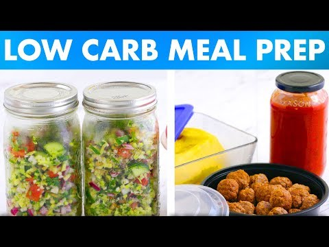 Low Carb Meal Prep Recipes for Breakfast, Lunch and Dinner! - Mind Over Munch