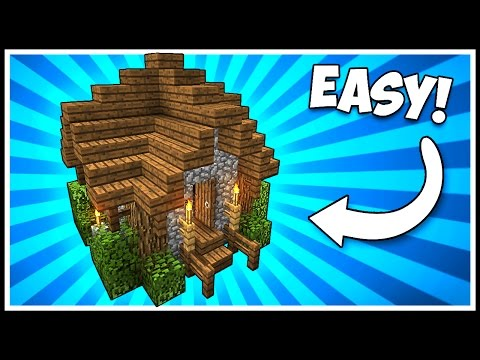 COMPACT MINI SHACK/HOUSE! - Minecraft Tutorial