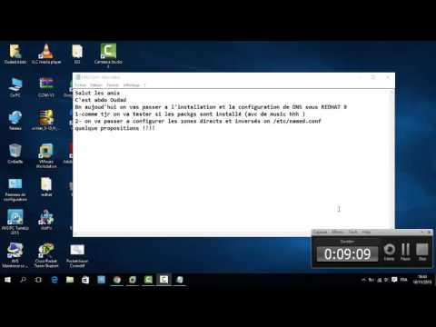 Configuration DNS Primaire sur Redhat 9
