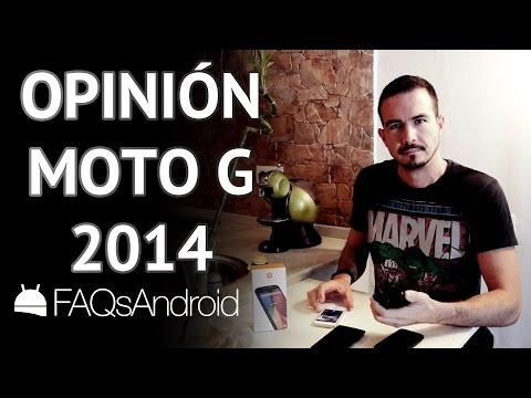 Opiniones del Nuevo Motorola Moto G 2014
