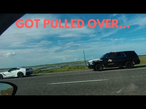 I got PULLED OVER by the POLICE & Got a speeding ticket
