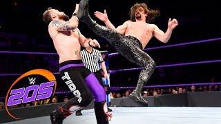 The Brian Kendrick & Gentleman Jack Gallagher vs. Local competitors: WWE 205 Live, April 17, 2018