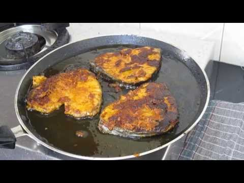 Vanjiram meen varuval in tamil - 2 nd method - Seer fish roast Tamil