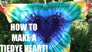 TIE DYE HEART TUTORIAL | @spvcecaseillustration #tiedye