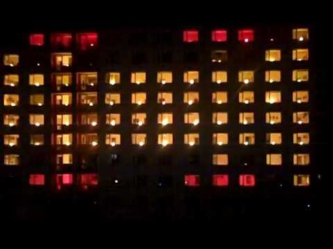 LIGHT SHOW Brno VUT 2012