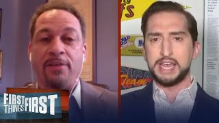 I'm all in on the NBA returning with a 22 team format — Nick Wright | NBA | FIRST THINGS FIRST