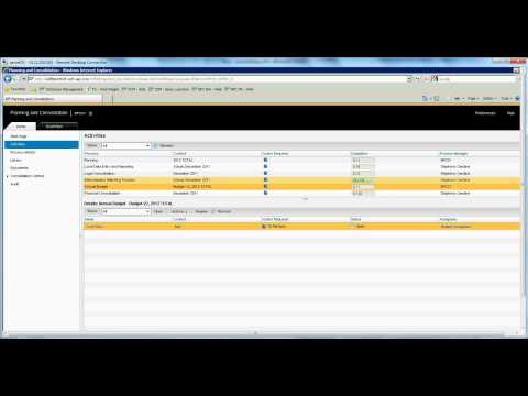 SAP BPC 10 for NetWeaver What's New - Part 1 of 2