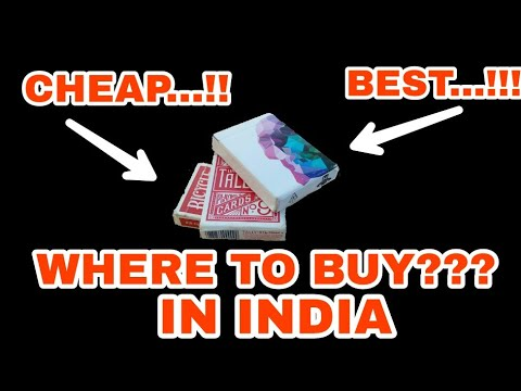 WHERE TO BUY CHEAP AND QUALITY CARDS IN INDIA...??