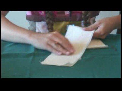 Rag Doll Making : Cutting Rag Doll Arms & Legs