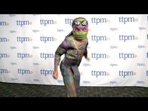 Teenage Mutant Ninja Turtles Movie Deluxe Donatello Child Costume from Rubie's Costume Co.