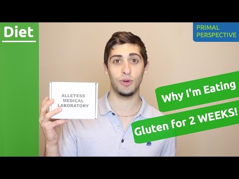 Testing Myself For Gluten Allergy (Along with 96 Other Foods)