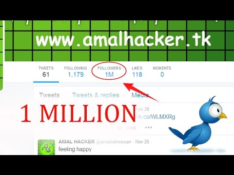 How to Get More Followers on Twitter - Increase Twitter Followers (really easy)