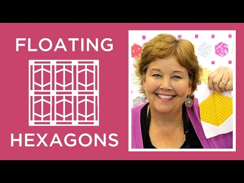 Jenny's Floating Hexagons Quilt