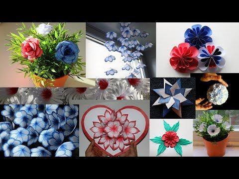 Paper craft compilation - DIY handmade crafts and interior designs