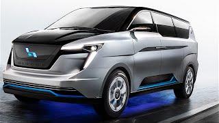 ICONIQ Seven Electric MPV Review Minivan Electric Taxi Tesla Competitor W Motors CARJAM TV
