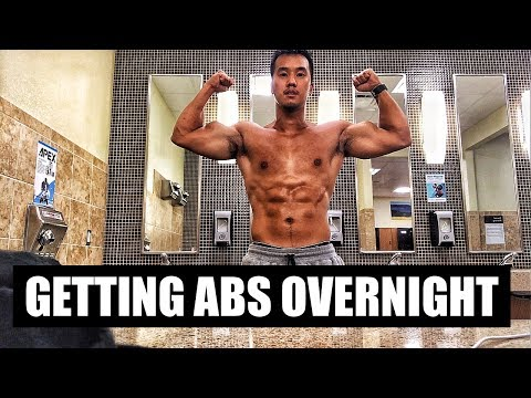 Getting Abs Overnight   SDK FIT