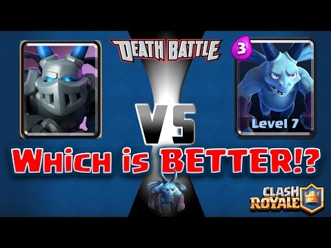 Clash Royale - *NEW* Mega Minion - *DESTROYS HORDE!*