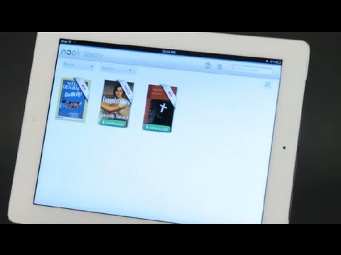 How to Load E-books to the Nook App on the iPad : iPad Tips