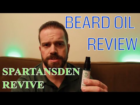 Beard Oil Review (spartans den revive)