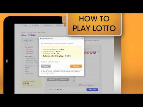 ISP Cash, How to play Lotto Online