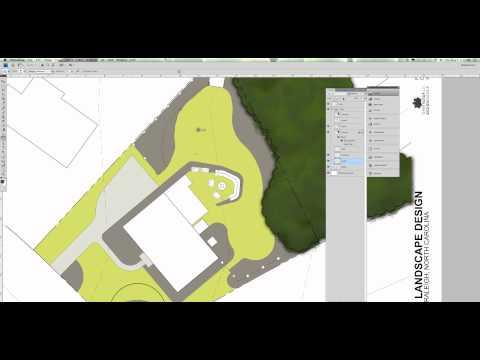 Site Plan Rendering in Photoshop