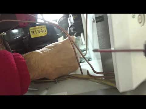Sub-Zero condenser fan motor replacement