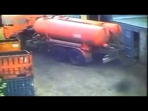 Russian Vacuum Truck FAIL