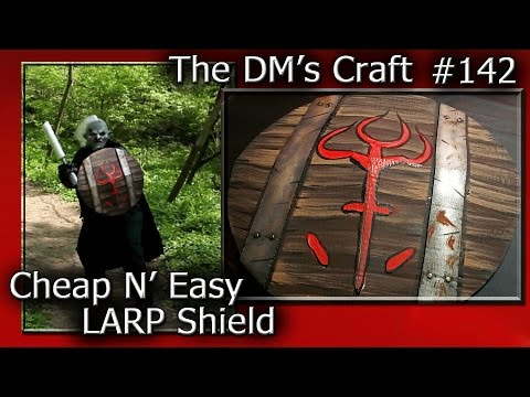 Cheap N' Easy LARP SHIELD (DM's Craft#142)
