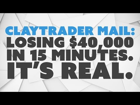 Losing $40,000 in 15 Minutes. It's Real.