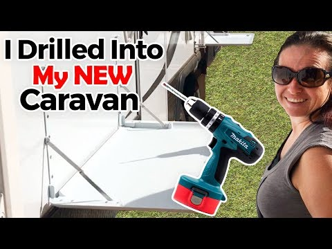 How To: Install Outside Picnic Table - Composite Wall Jayco Caravan